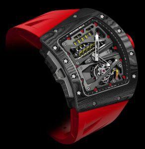 Нов часовник - Richard Mille RM 70-01 Tourbillon Alain Prost 'Cycling' с somplications