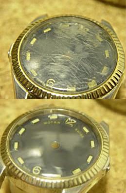 Полиране на часовници - преди и след