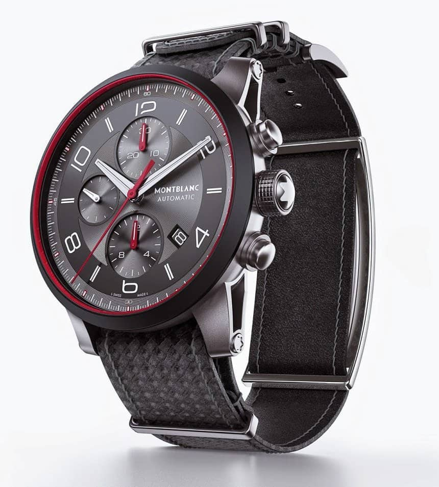 Часовник Monblanc TimeWalker Urban Speed e-Strap