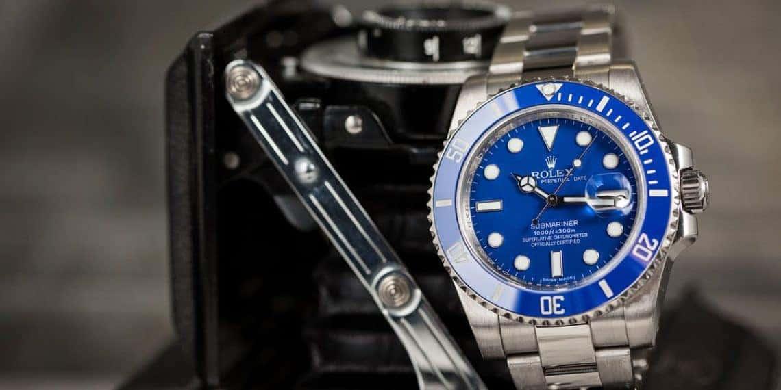 Rolex Submariner 116619 Smurf