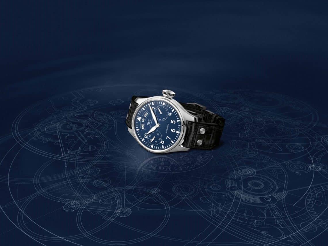 IWC PILOT'S часовници с лакирани циферблати