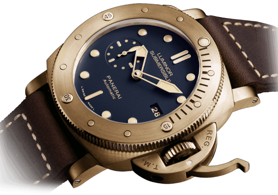 Panerai PAM 671 Luminor Submersible Bronzo Blue 47mm