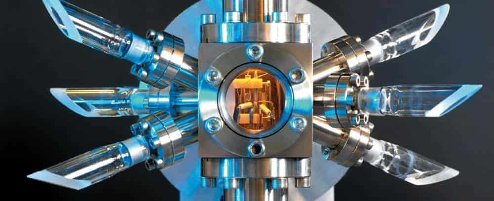 Атомен часовник с цезиев фонтан, снмка - National Physical Laboratory