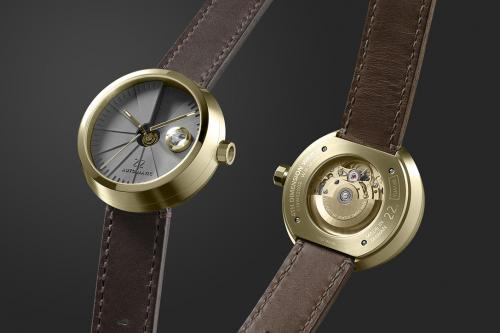 4D Concrete Watch - часовник с циферблат от бетон - 08